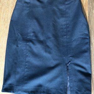 💎 JACOB Navy Blue Pencil Skirt | Size 4-6